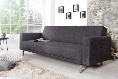 Rozkładana sofa MANHATTAN 215cm antracyt