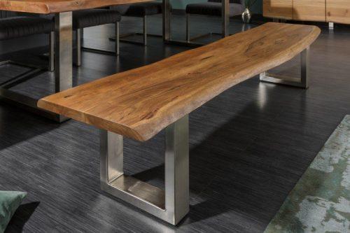 Ławka Mammut 160 cm akacja lite drewno