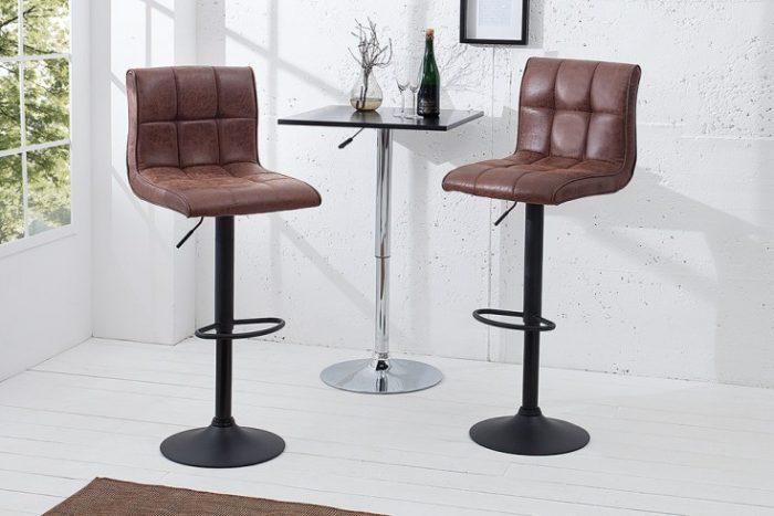 Hoker MODENA styl vintage, nowoczesny brązowy