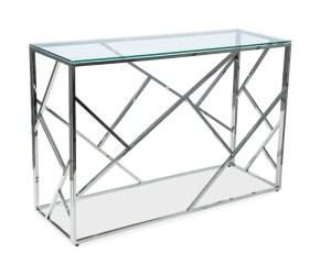 Konsola ESCADA glamour chrom szkło   design