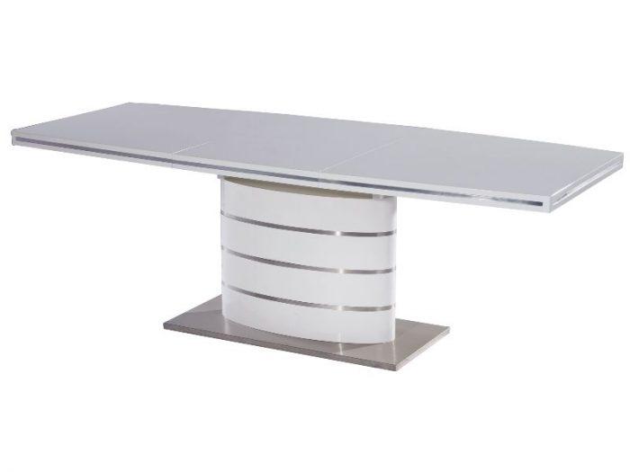 Stół FANO 160-220 rozkładany biały lakier