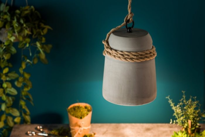 Industrialna lampa wisząca CEMENT COLLECTION IV