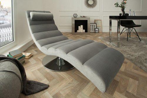Nowoczesna leżanka szezlong tapicerowany Relaxo