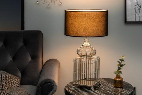 Lampa stołowa CAGE 68cm  vintage