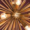 Elegancka lampa wisząca SUNLIGHT 50cm złota