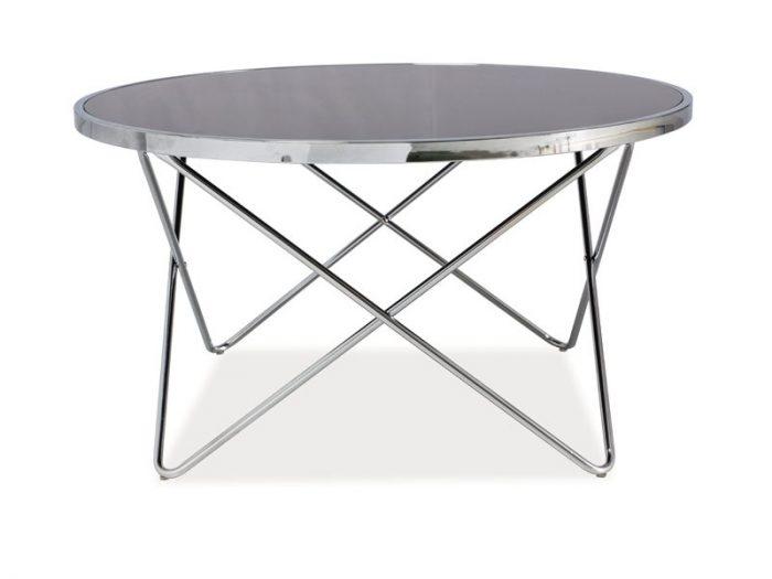 ława stolik kawowy srebrny design  FABIA B