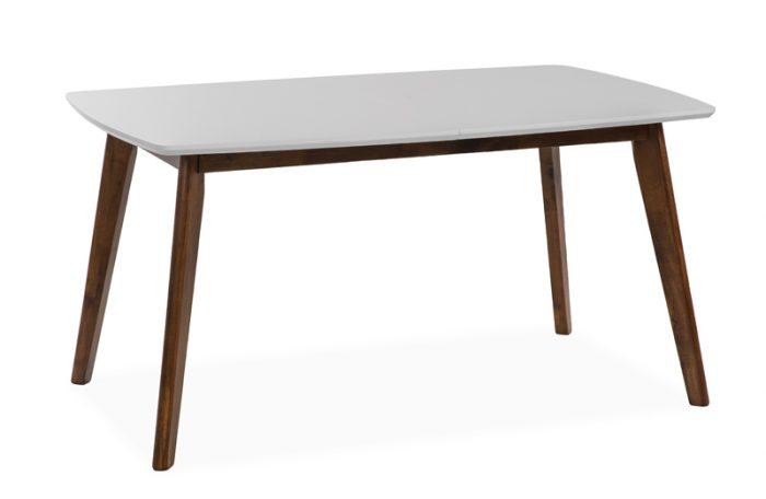 stół  MAROCCO rozkładany, biały 150/195 nowoczesny design