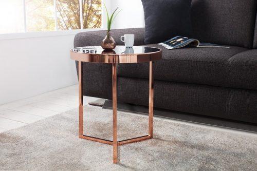 Oryginalny stolik kawowy ASTRO z miedzi 45 cm