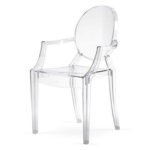 Krzesło Roma Louis Ghost przezroczyste