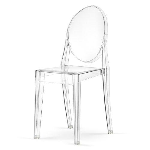 Krzesło Victoria Louis Ghost Ludwik Przezroczyste Viktoria