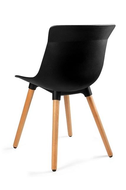 Krzesło designerskie czarne Easy M