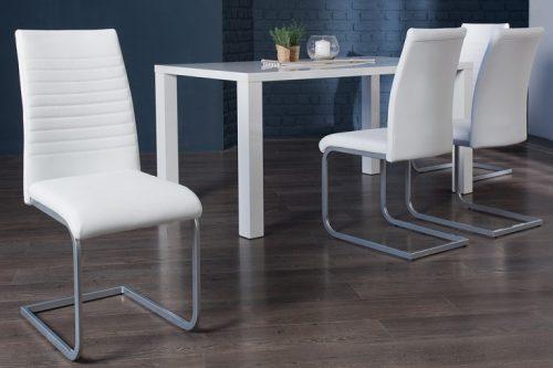 Nowoczesne krzesło APPARTMENT białe
