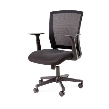 Krzesło biurowe  z oparciem czarne