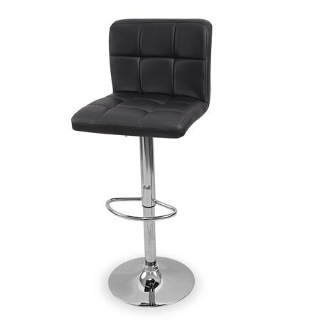 Eleganckie Krzesło obrotowe hoker czarne