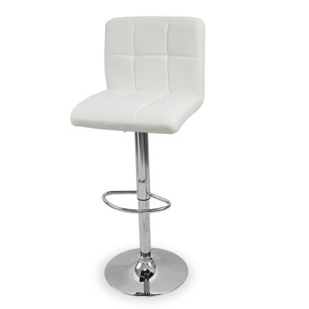Eleganckie Krzesło obrotowe hoker  białe