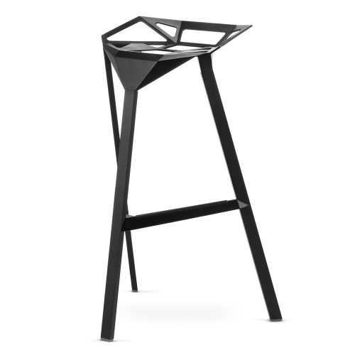 Hoker Carbonia Gap One Stool One Chair Czarny