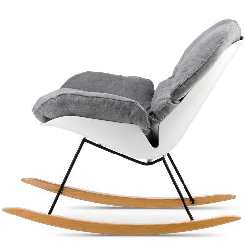 Fotel Kalabria na płozach Nowoczesny fotel nino