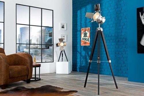 Ekstrawagancka nowoczesna lampa podłogowa Hollywood