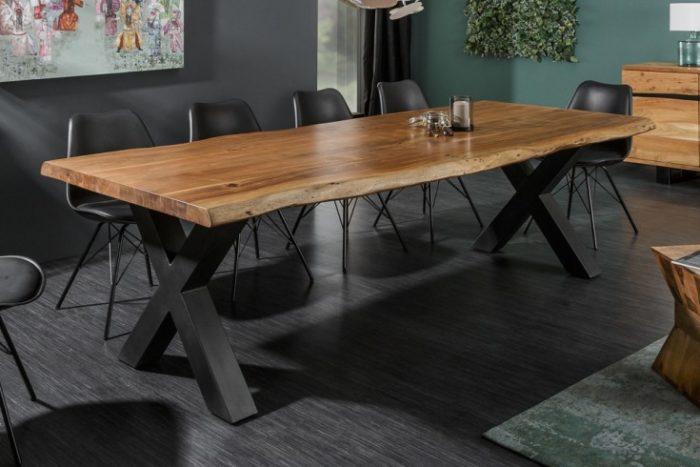 Stół MAMMUT 180cm z litego drewna akacjowego