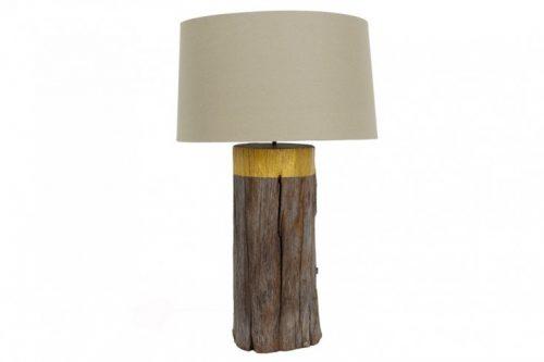 Naturalna lampa stołowa PURE NATURE 73 cm