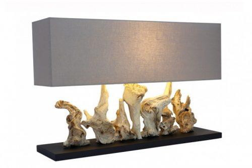 Naturalna lampa stołowa PURE UNIQUE 80 cm