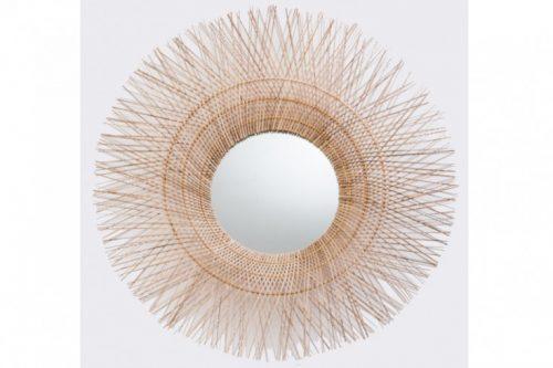 Ręcznie robione lustro ścienne PURE NATURE 85cm
