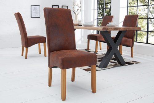 Krzesło CASA kolonialne drewno vintage