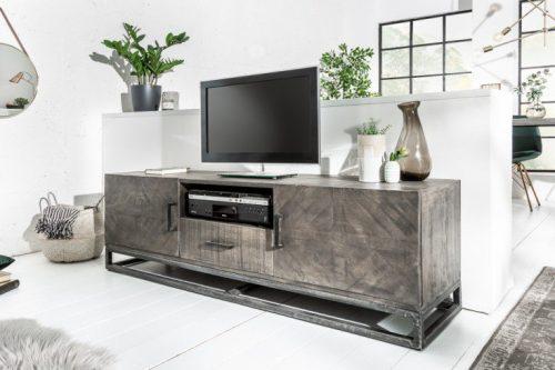 Industrialna szafka TV INFINITY HOME 160cm szara