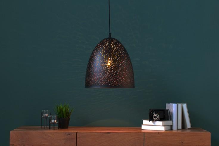 Filigranowa lampa wisząca MOONLIGHT DANCE I 31cm czarna