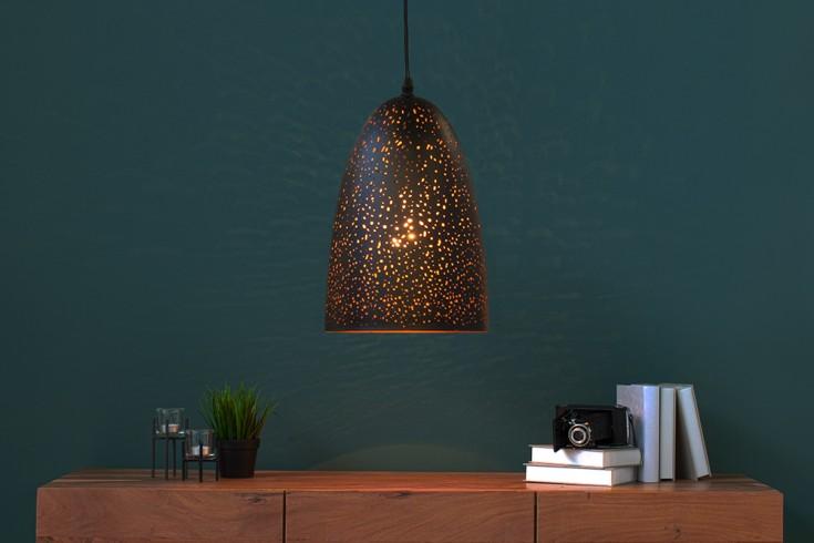 Filigranowa lampa wisząca MOONLIGHT DANCE II 34cm czarna