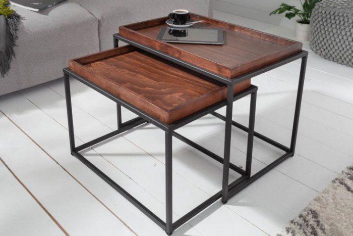 Zestaw stolików kawowych SCANDINAVIA 60cm