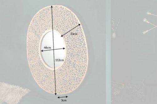Eleganckie lustro ścienne LEAF L 112cm