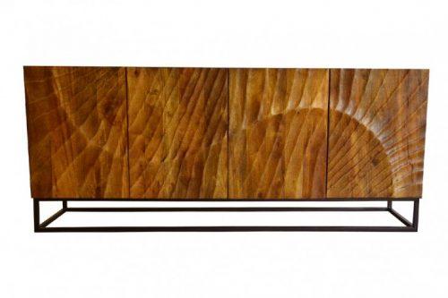Komoda SCORPION 177 cm drewno mango