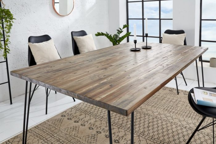 Stół SCORPION 160 cm akacja brązowa