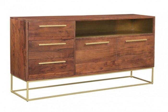 komoda STRAIGHT 165cm drewno akacjowe 40292