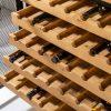 Regał na wino BODEGA 127cm drewno sosnowe