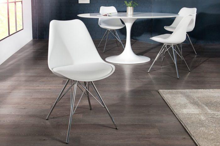 Krzesło Scandinavia białe