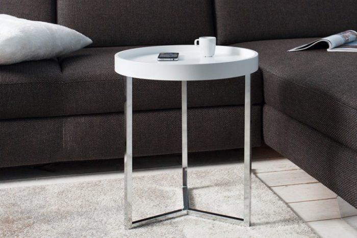 Stolik MODULAR 40 cm biały