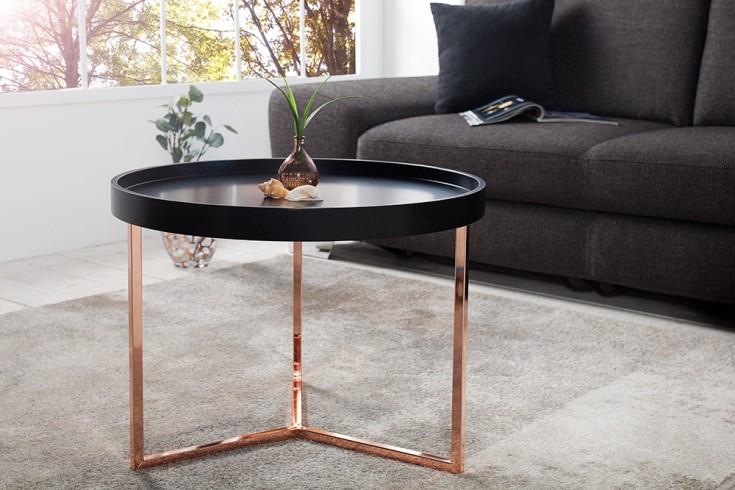 Stolik kawowy MODULAR 60 cm miedziany