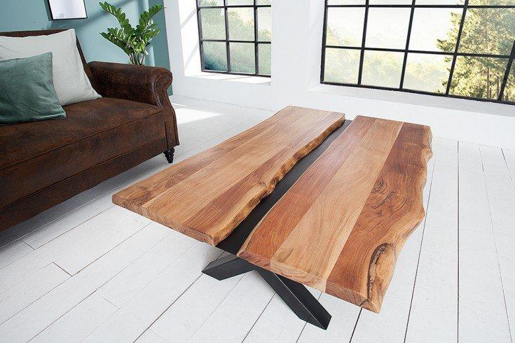 Stolik kawowy AMAZONAS 120cm akacja