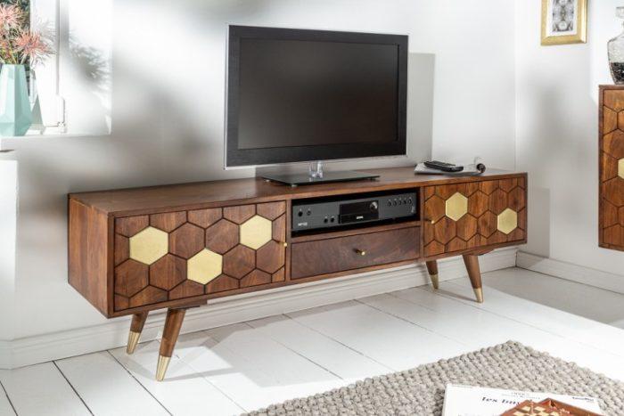 Komoda TV MYSTIC LIVING 140cm akacja