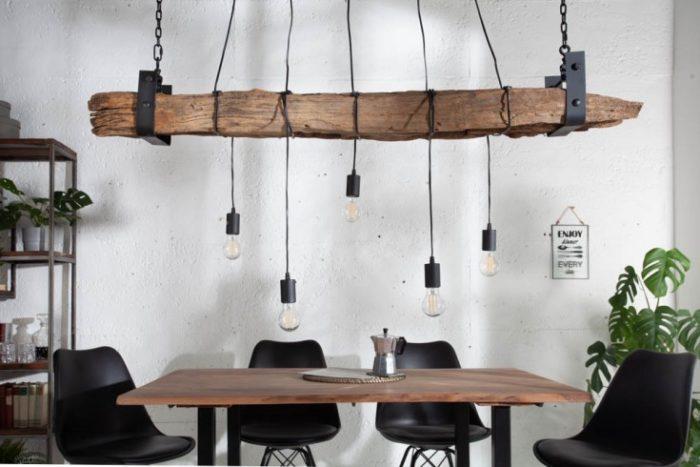 Lampa wisząca BARRACUDA 152 cm przemysłowa