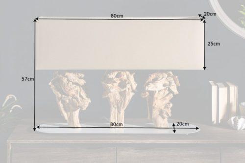 Lampa stołowa SCULPTURE 80cm
