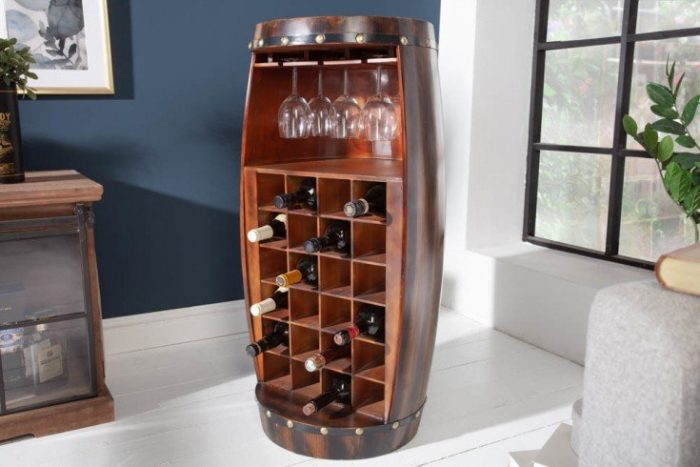 Stojak na wino BODEGA 97cm