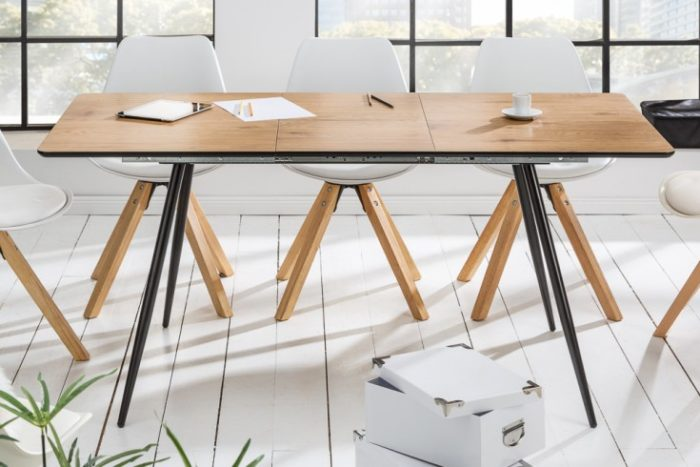 Stół APARTMENT 120-160cm dąb