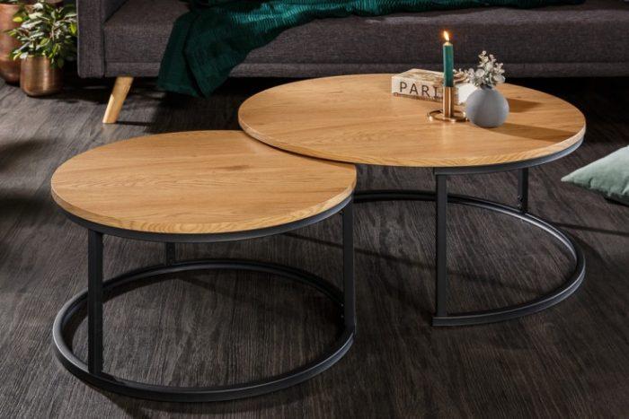 Zestaw stolików kawowych STUDIO 80cm