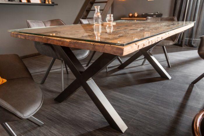 Stół BARRACUDA 180cm z drewna tekowego