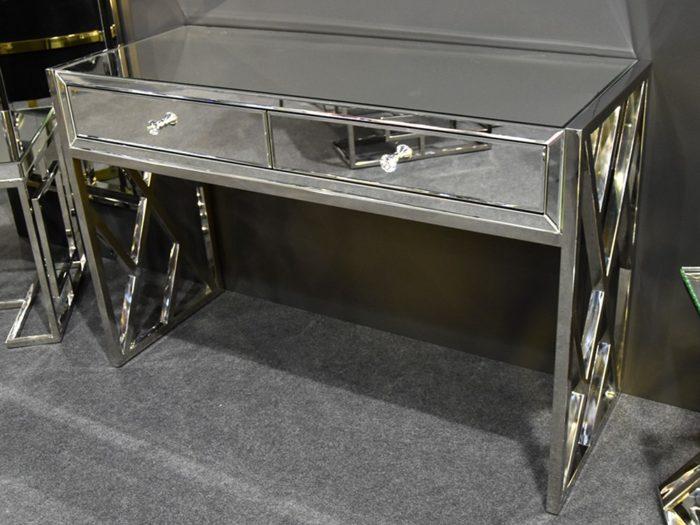 Toaletka lustrzana srebrna 120cm