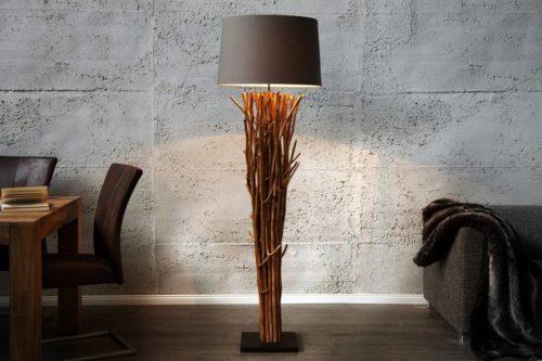 lampa podłogowa z drewna driftowego EUPHORIA 180cm