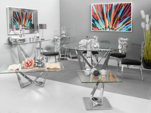 Designerski stół z podstawą 240cm